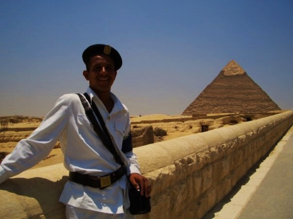 Egyptian Security Guard