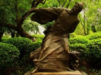 Statue in Li River Park