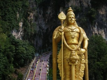 Murugan at Batu Caves
