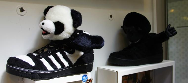 Furry Adidas