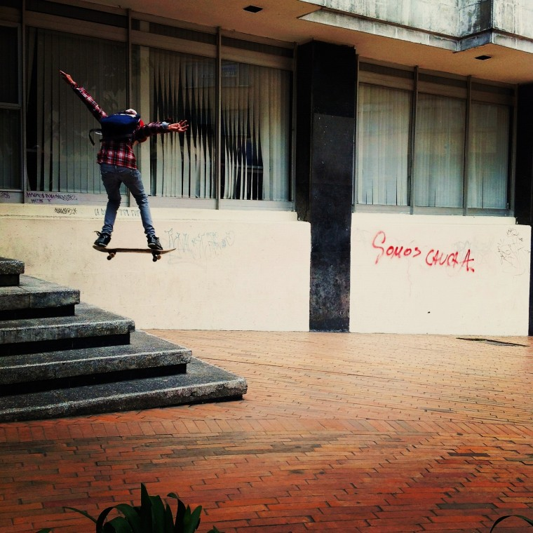 Bogota Skateboarder