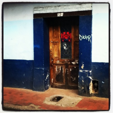 Doorway in La Candelaria