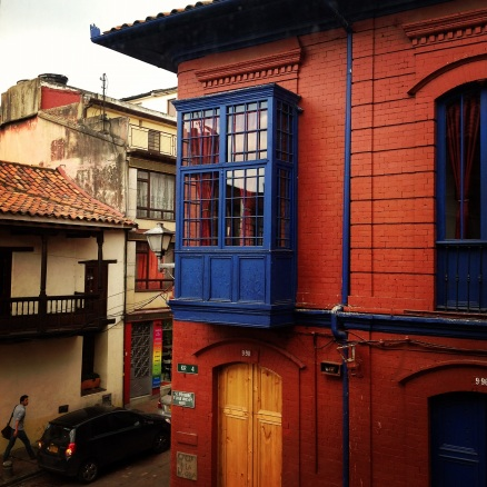 Red Building in La Candelaria