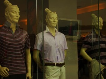 Terra Cotta Warrior Mannequins!
