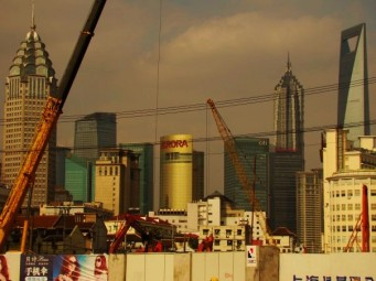 Construction along the skyline