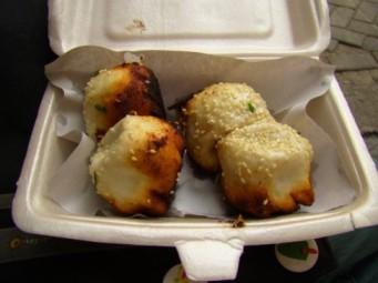 Xhengjian dumplings