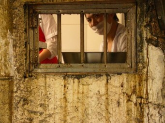 Prisoner in a dumpling prison