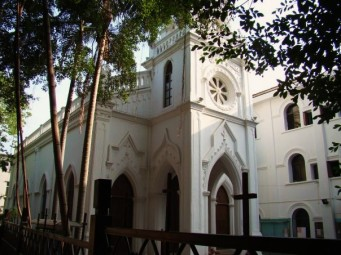 Former Spanish consulate, now a Roman Catholic Church