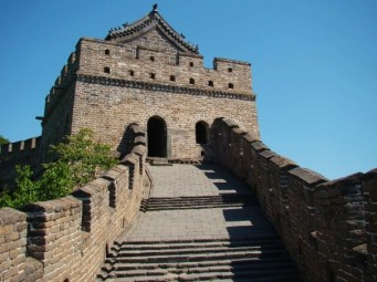 'The strength of a wall depends on the courage of those who defend it.' - Genghis Khan Sentries could be bribed, so...Matianyu is renowned for its Ming Dynasty guard towers.