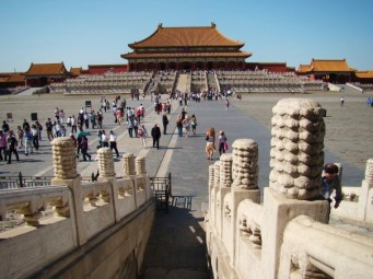 Forbidden City: Off limits for 500 years. Two dynasties Ming and Qing