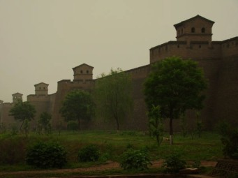 The best-preserved ancient walled city in China - Pingyao.