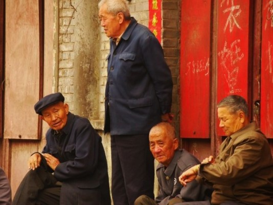 Pingyao residents