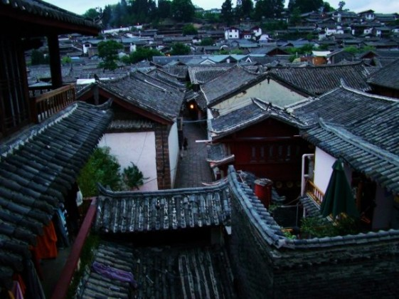 Rooftops of Lijiang