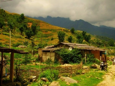 Trekking through Lao Chai and Ta Van Villages