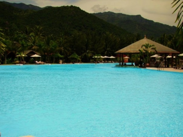 The Pool at The Diamond Bay Resort