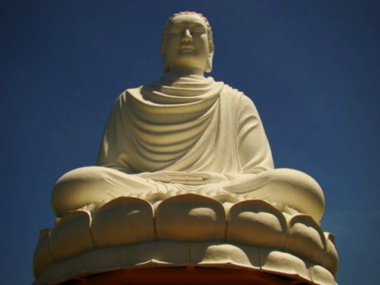 White Buddha, Blue Sky