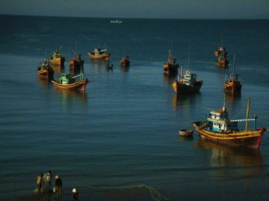 Fishing Boats of Mui Ne