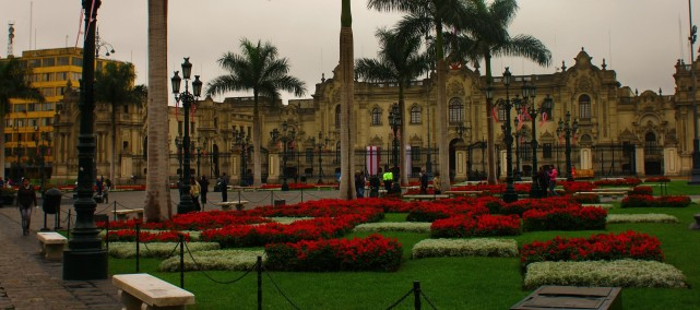 View of the Plaza de Armas