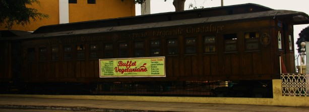 Old Wooden Train Restaurant in Barranco