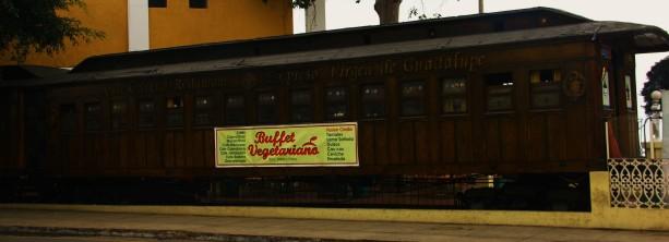 Old Wooden Train Restaurant in Barranco