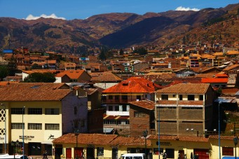 View of Cuzco from Qoricancha