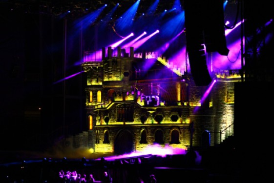 Her Stage is a Castle