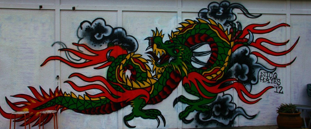 DRAGON TATTOO (1/3)