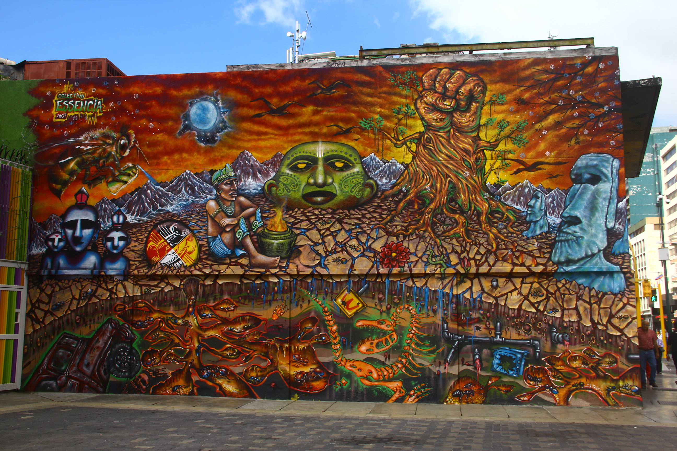 Art In The Garden: CARACAS STREET ART: THE BEGINNING