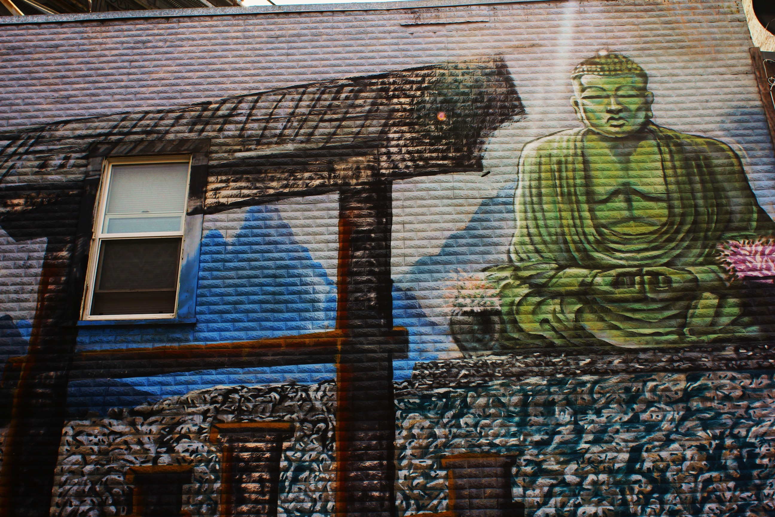 301 moved permanently for Buddha mural art