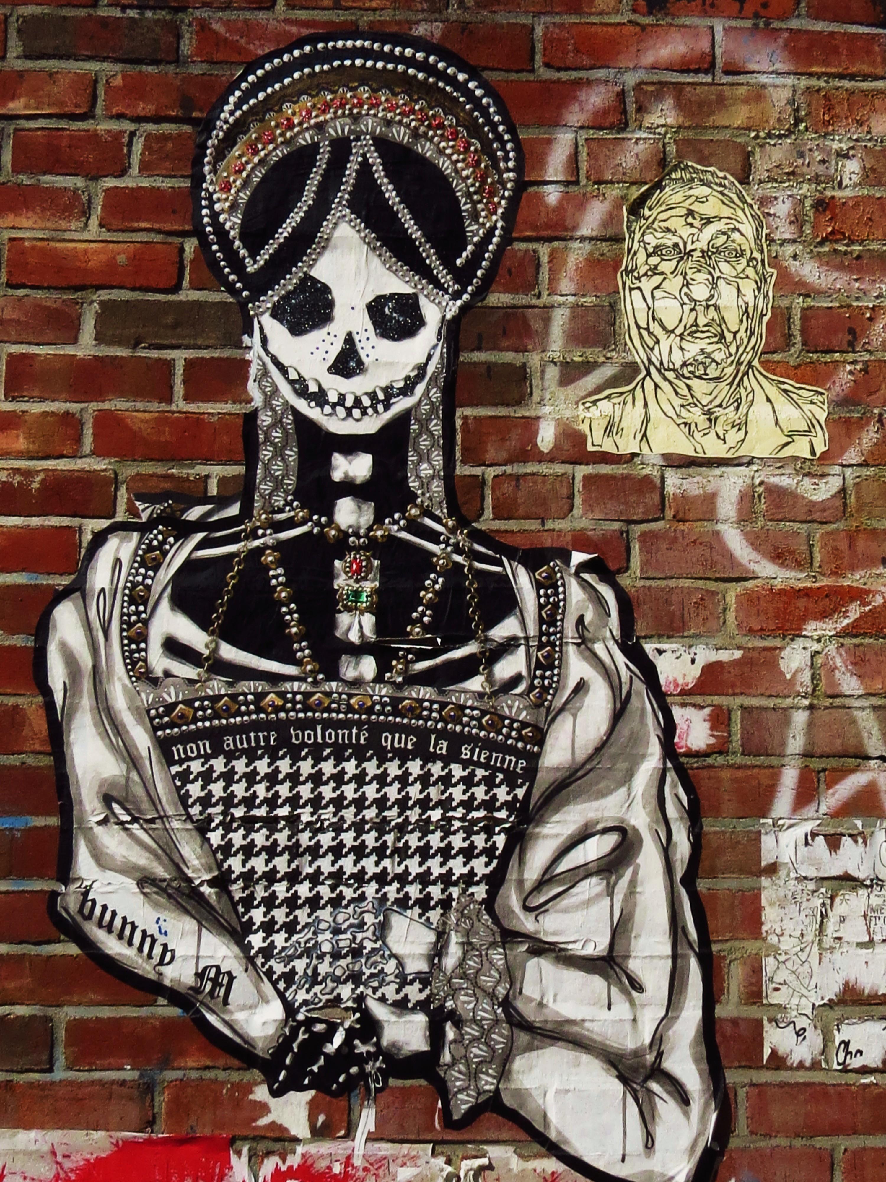 N.Y.C. PASTE-UP GRAFFITI: CATHERINE HOWARD & FRIENDS ...