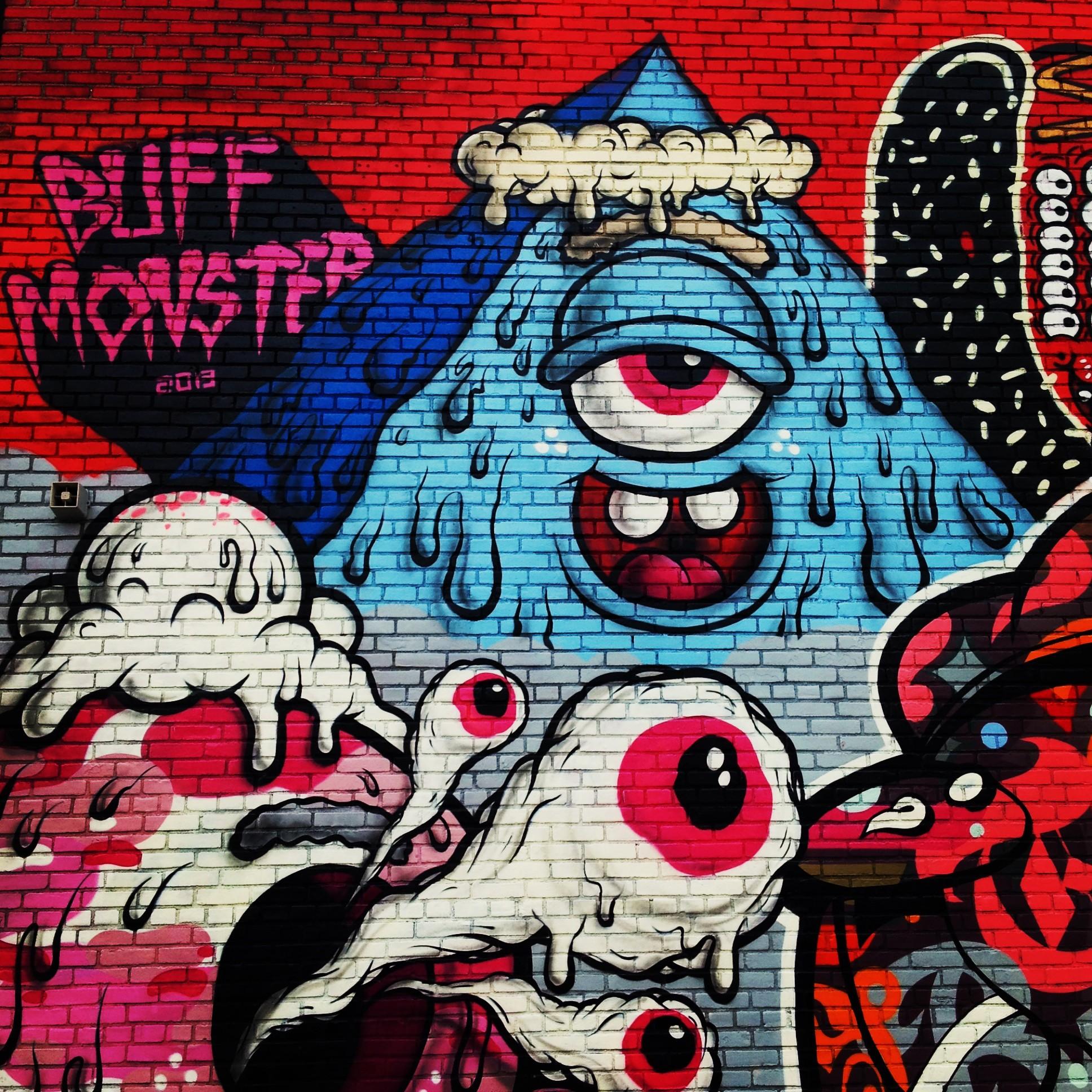 Nyc Graffiti Buff Monster Amp Sheryo And The Yok