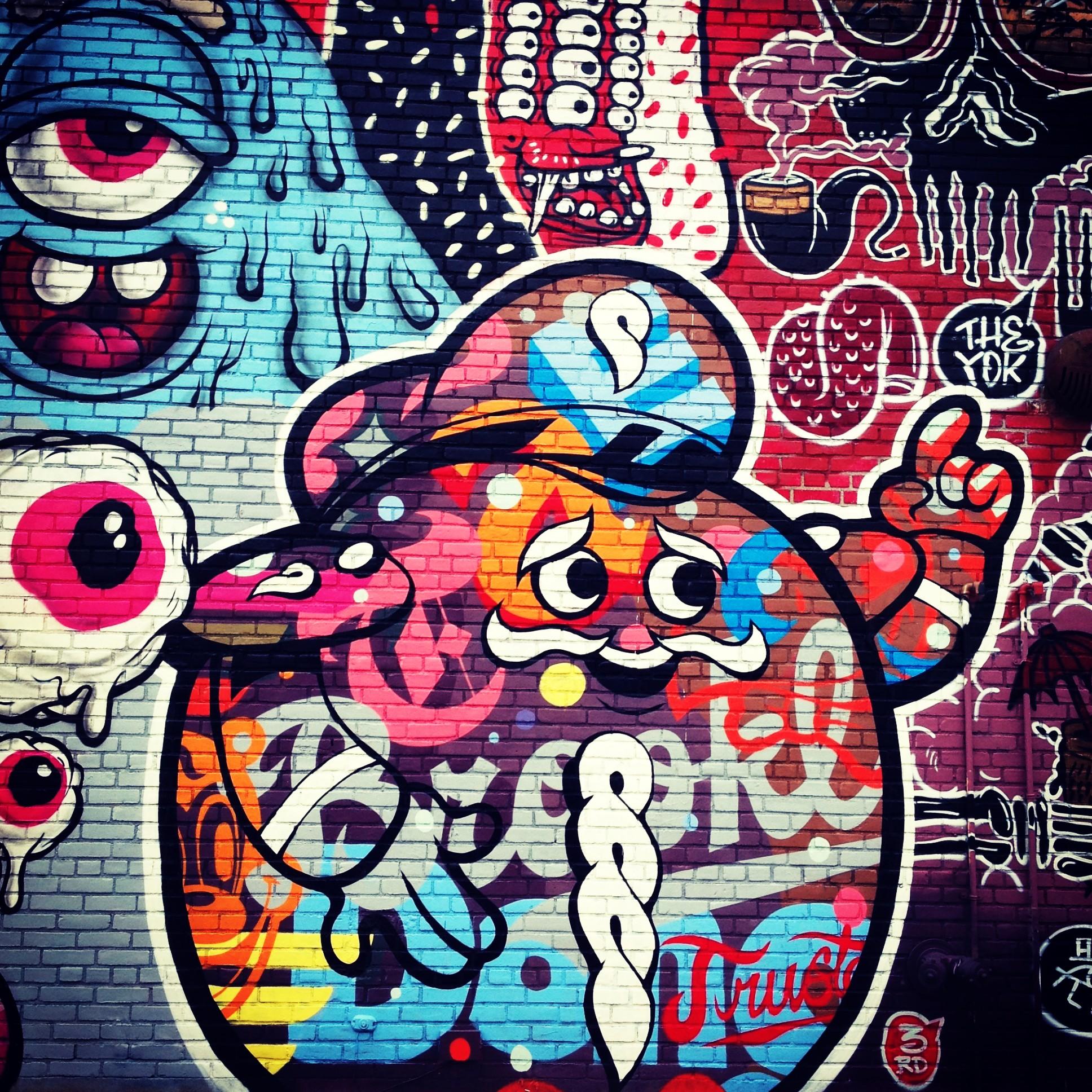Nyc Graffiti Buff Monster Sheryo And The Yok Tokidoki Nomad