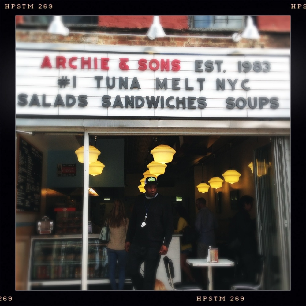 NYC FOOD & DRINK: ARCHIE & SONS (1/4)
