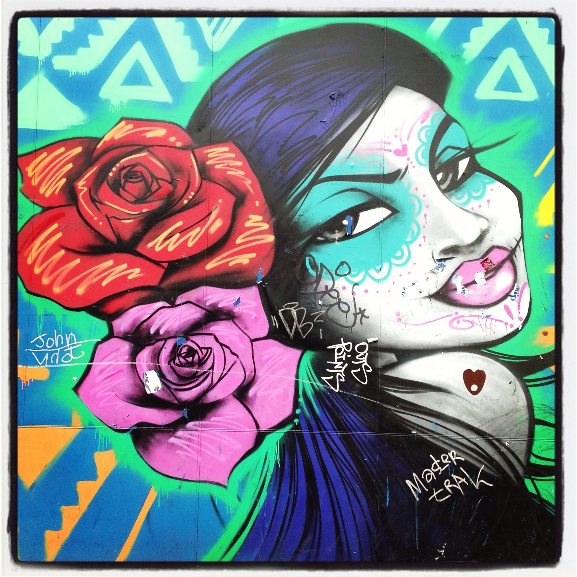 NYC GRAFFITI: FLOWER GIRL by LATINO LIFE – TOKIDOKI (NOMAD)
