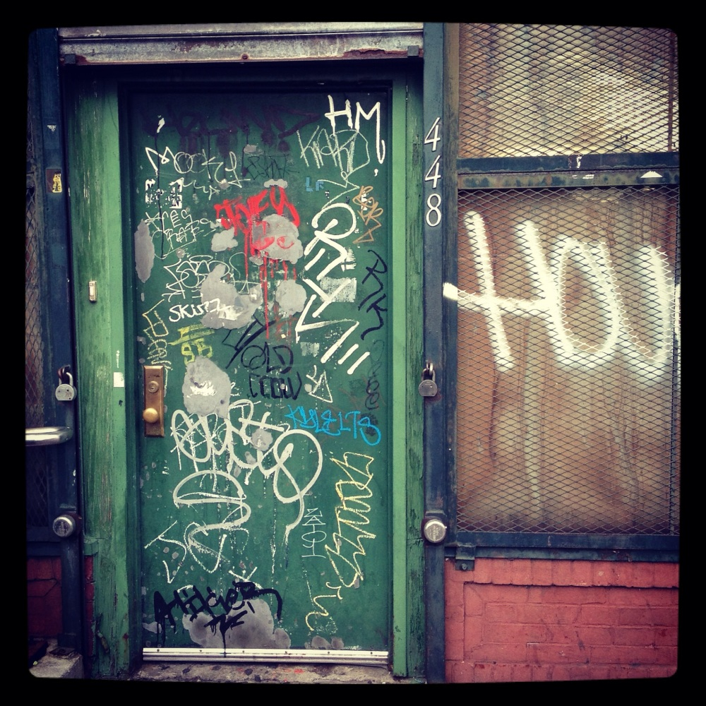 NYC IMAGES: DOORS, PT. 3 (5/6)