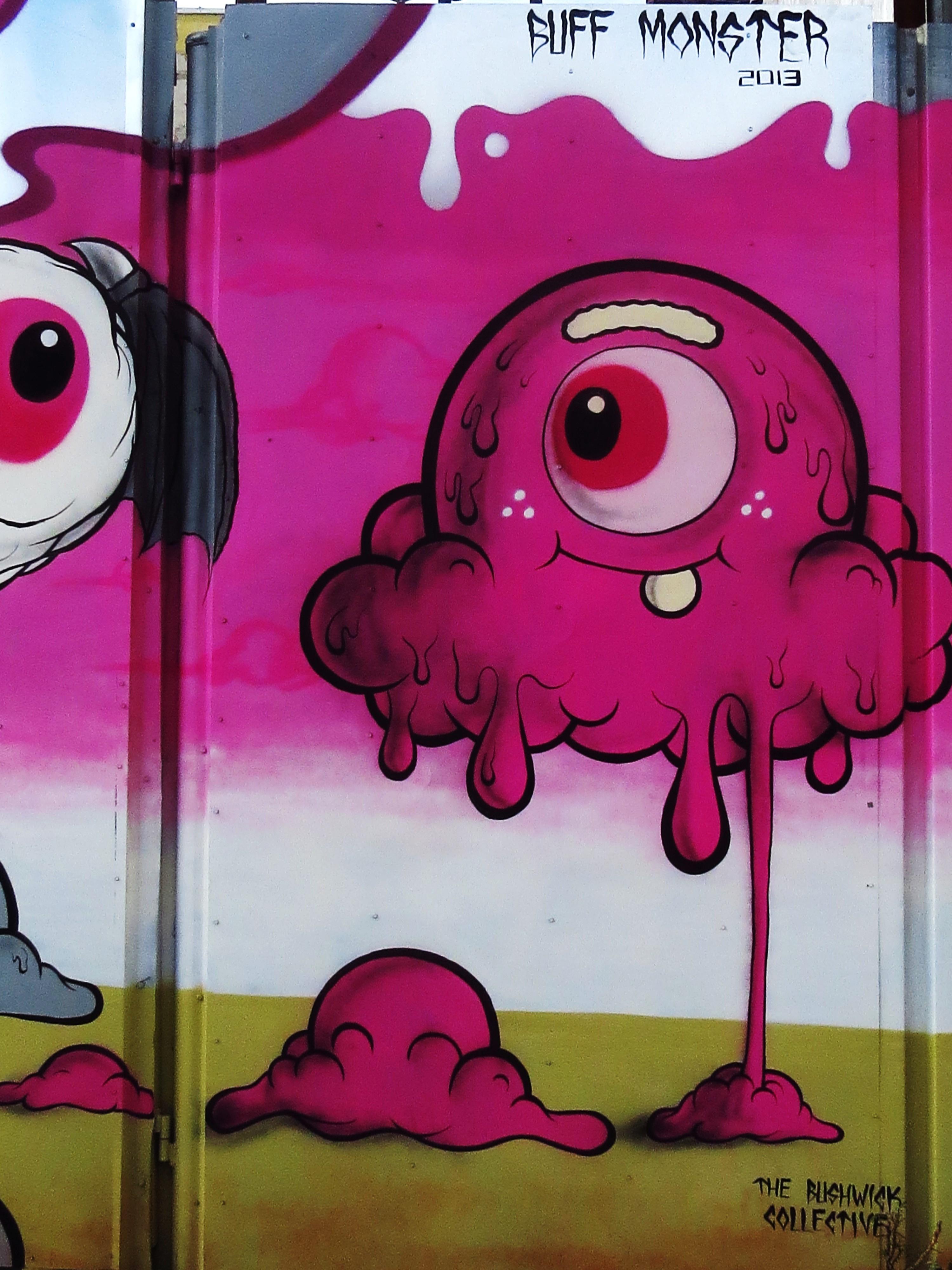 Nyc Graffiti Buff Monster Friend Tokidoki Nomad