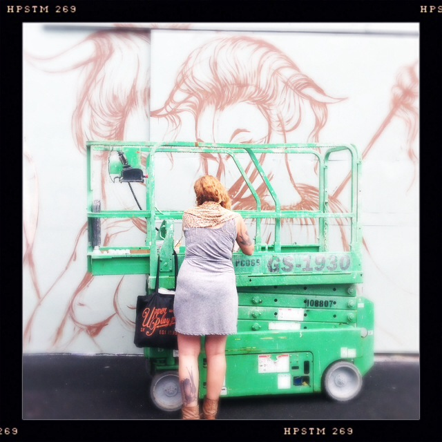 MIAMI STREET ART: MISS VAN IN PROGRESS! (6/6)