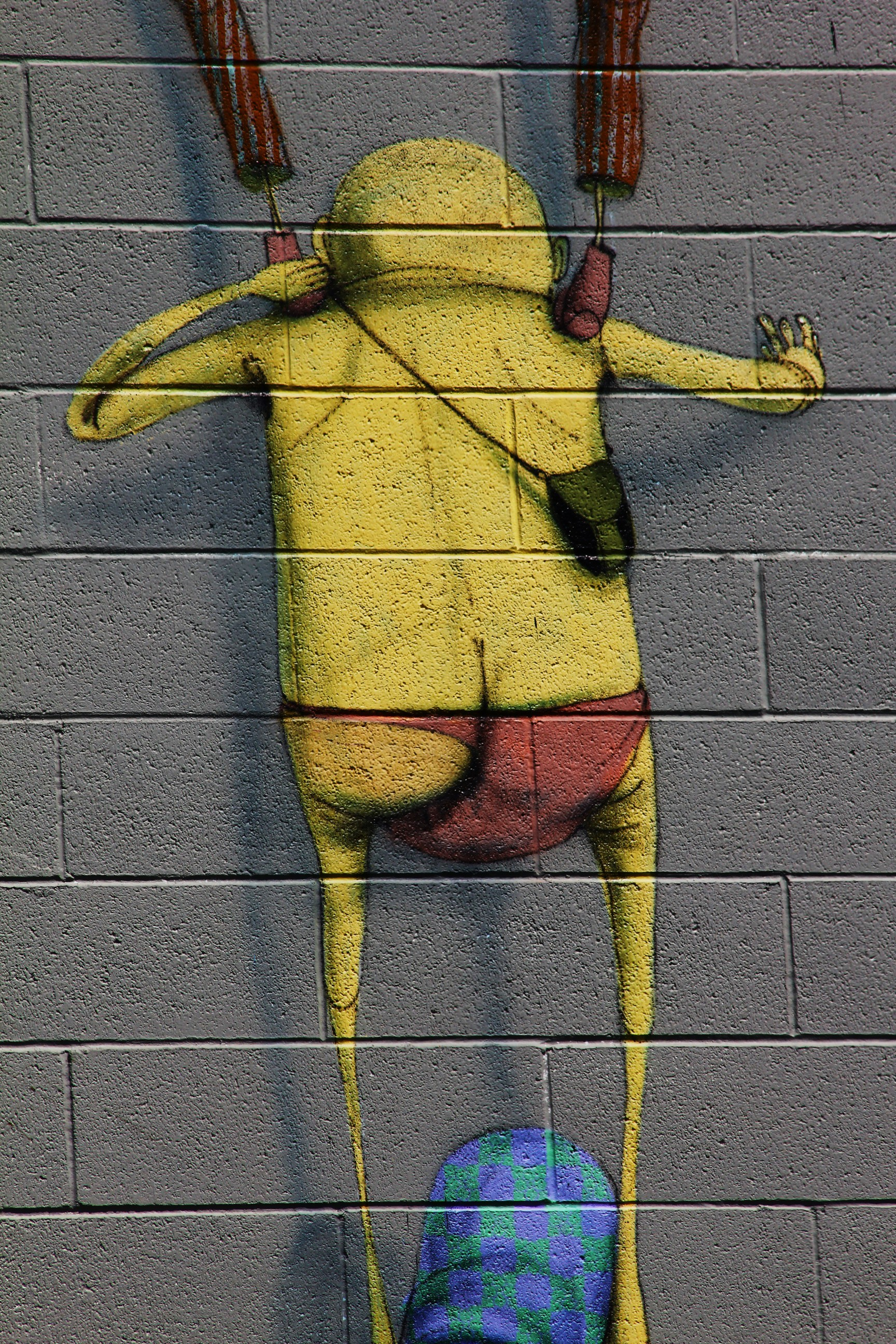 SAN DIEGO STREET ART: DON\'T BELIEVE THE HYPE by OS GEMEOS ...