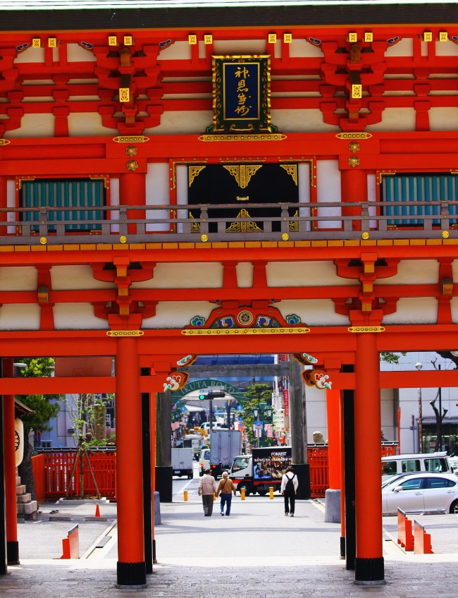 KOBE, JAPAN IMAGES: IKUTA SHRINE – TOKIDOKI (NOMAD)