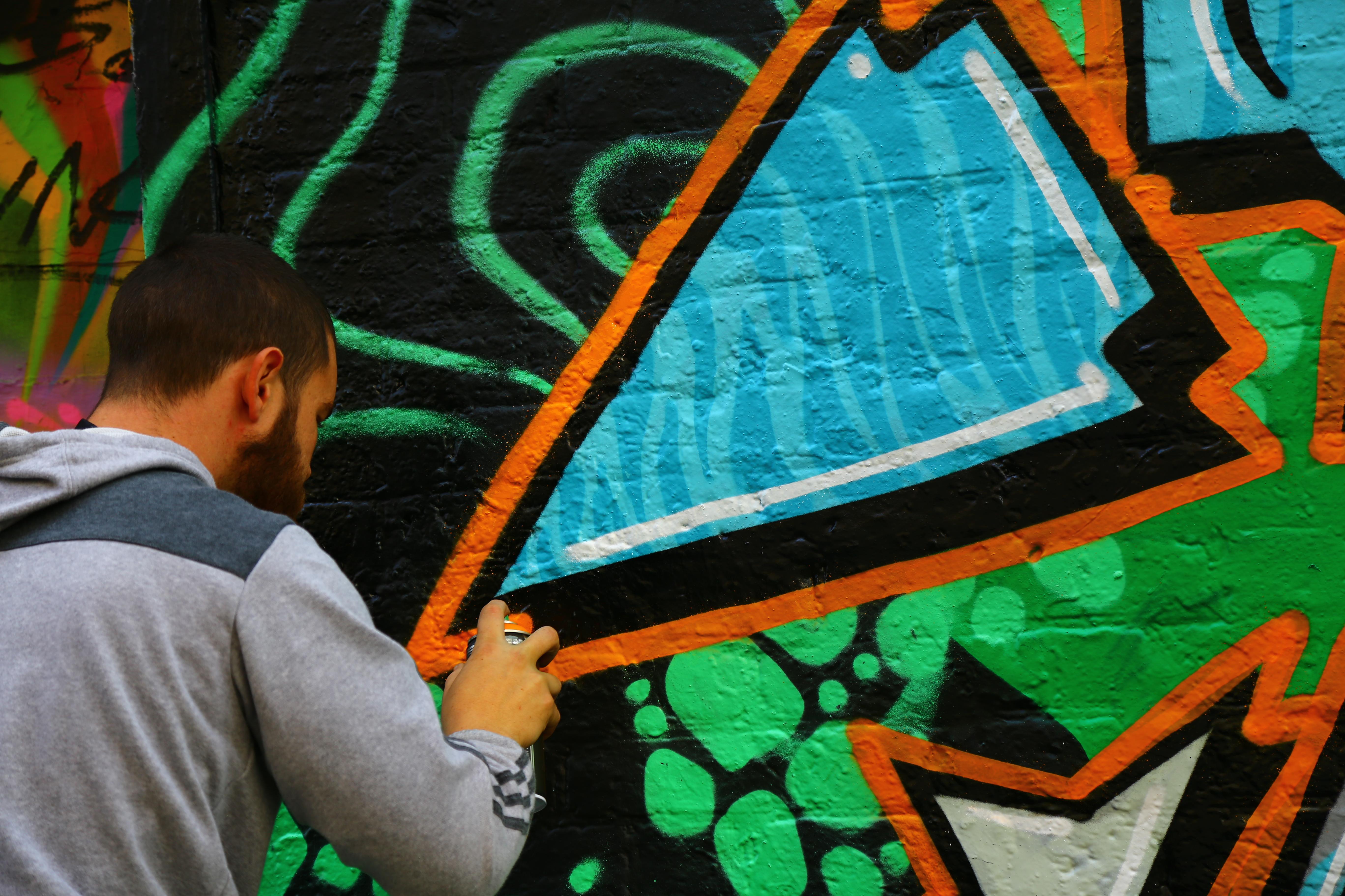 Yokohama graffiti wall - Image