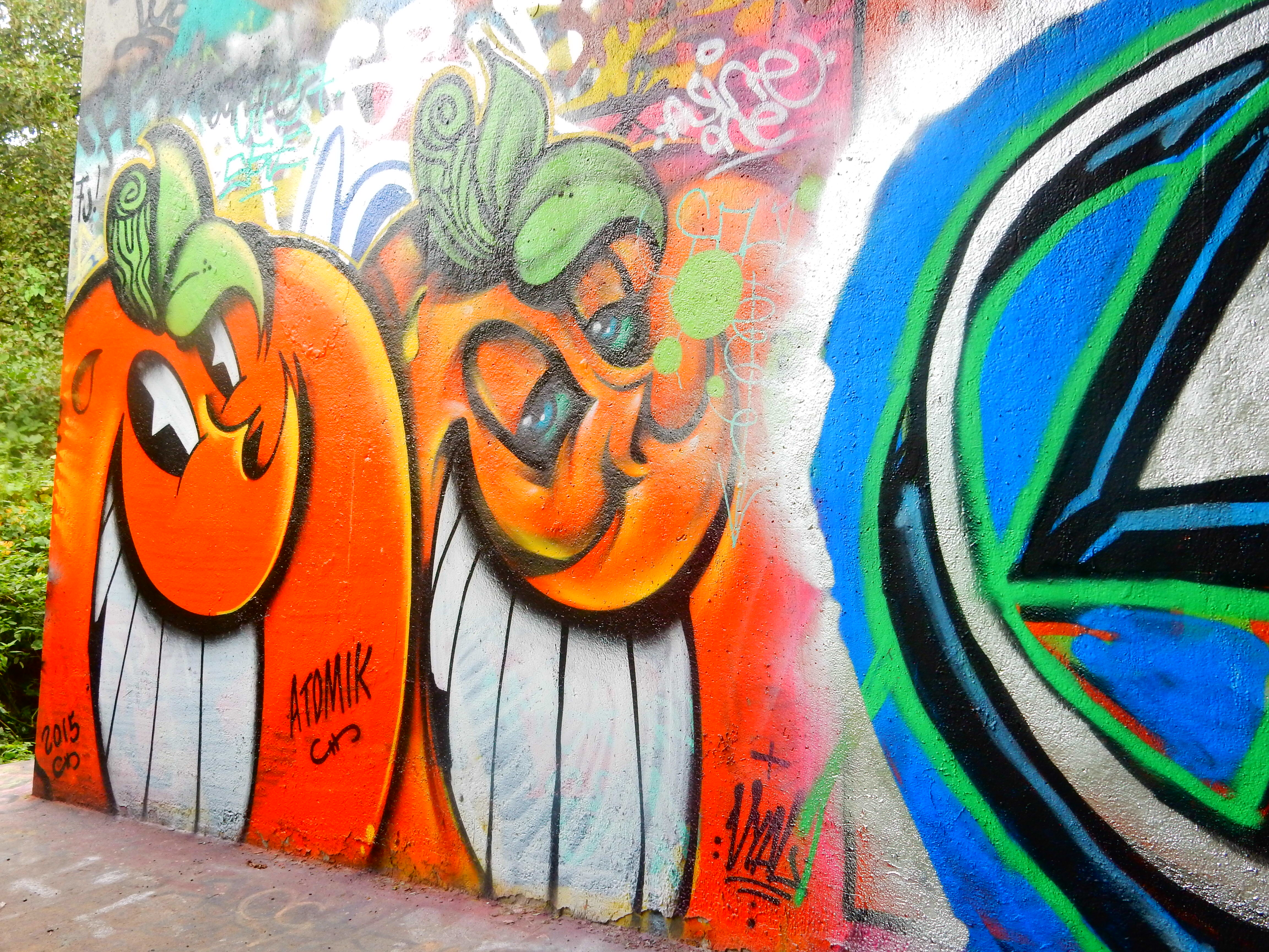 Yokohama graffiti wall - Locals Told Me About A Legal Graffiti Park One Stop Away From Amsterdam Centraal It S Called Flevopark And Some Talented Artists Have Put Their Work On