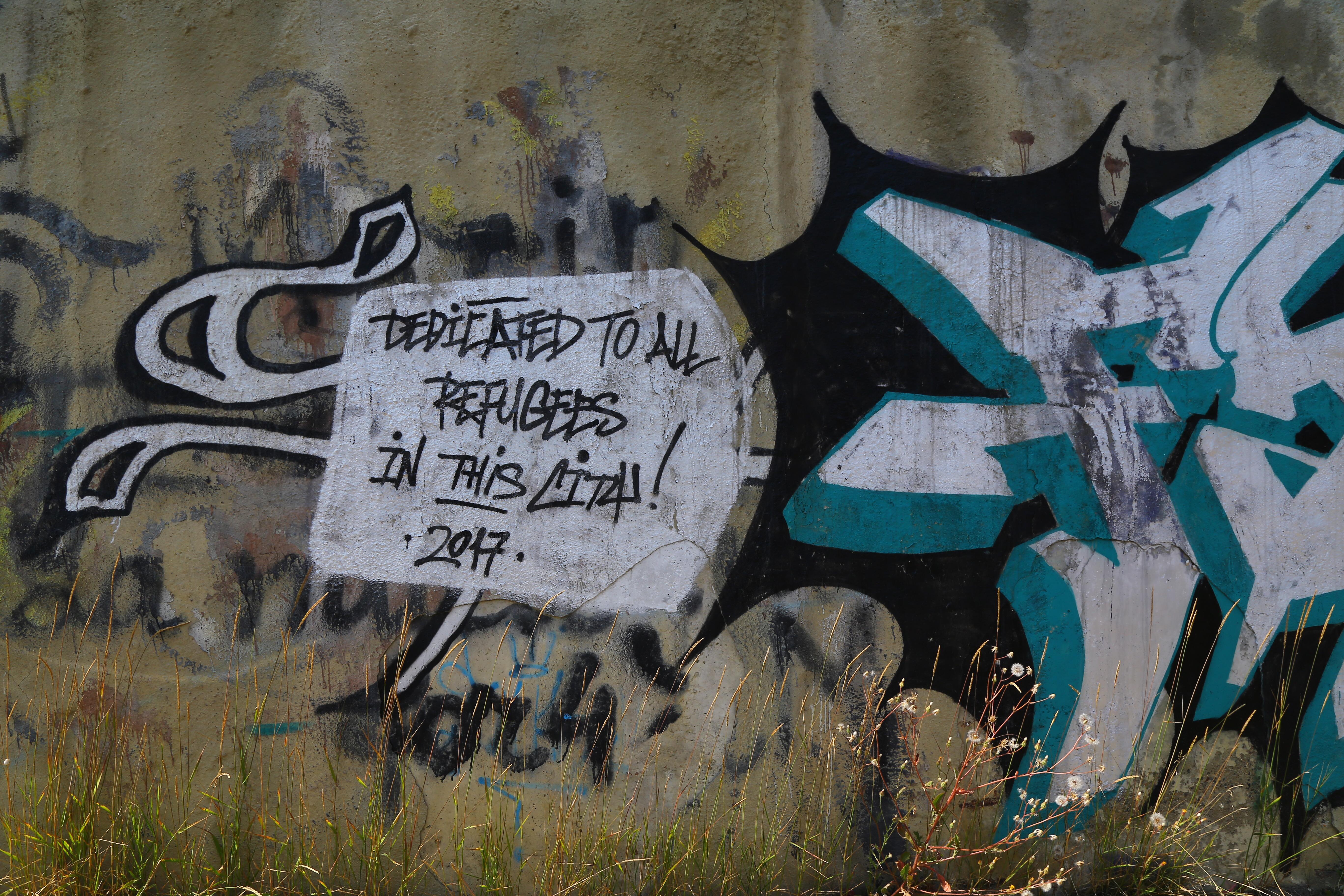 Yokohama graffiti wall - 20july17