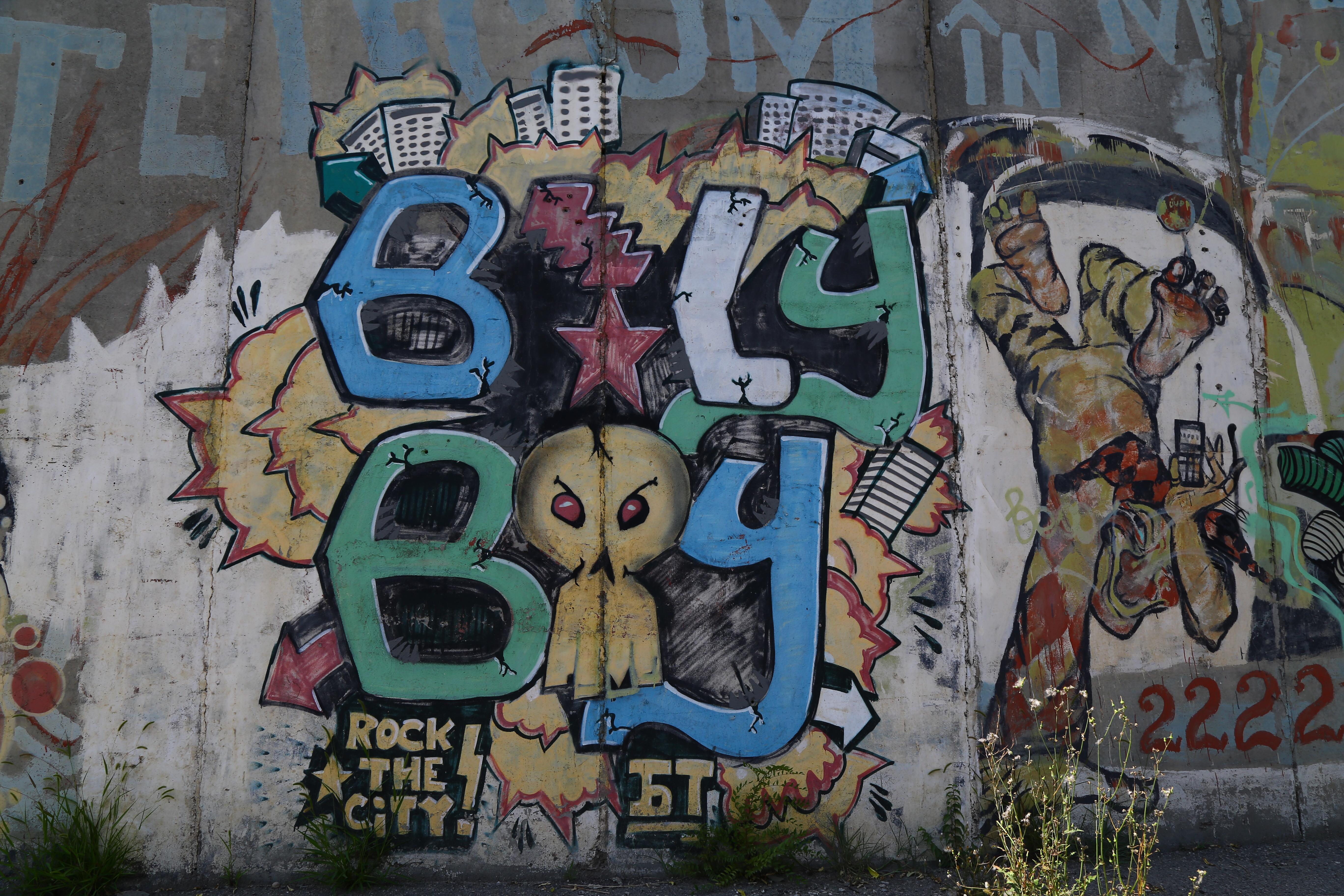 Yokohama graffiti wall - 20jul17