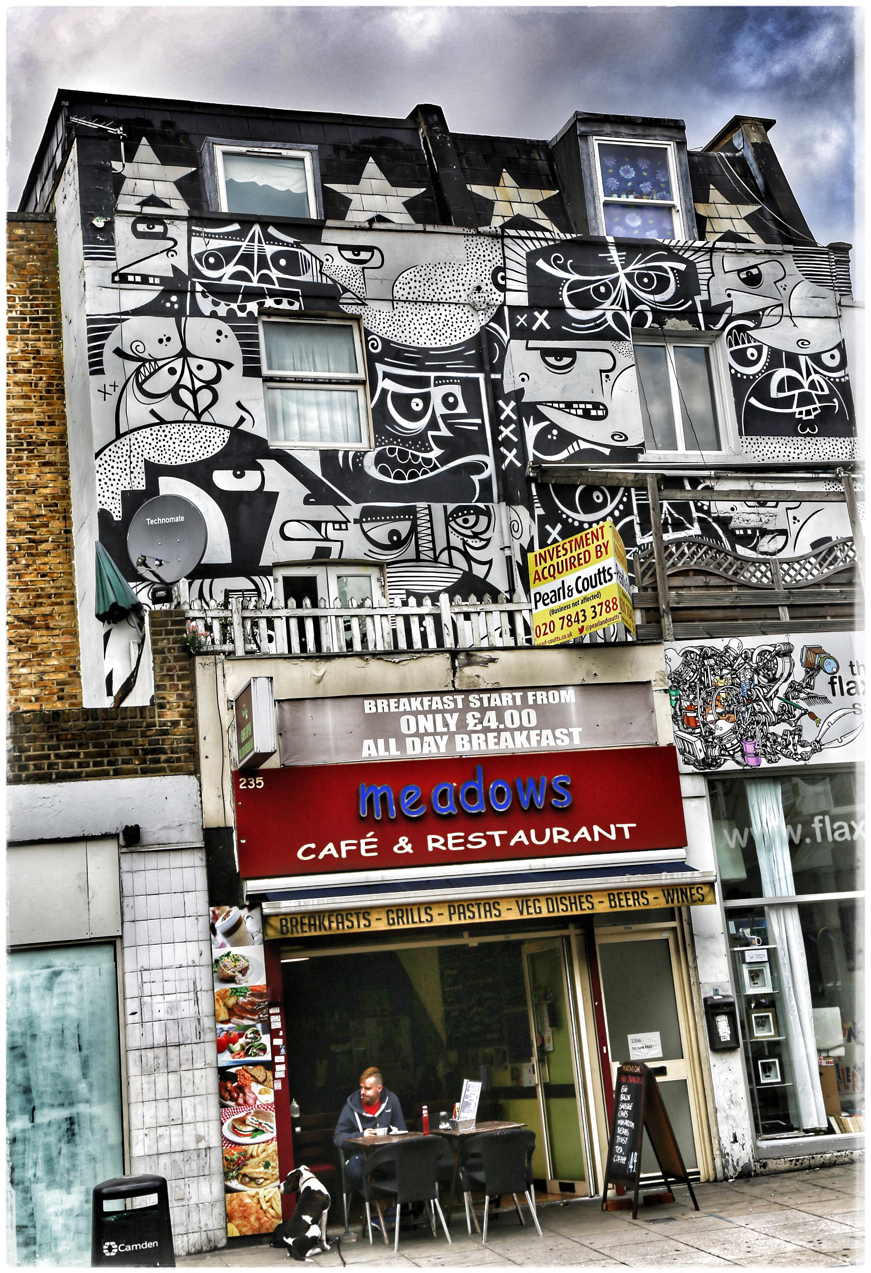 Camden Town: LONDON, ENGLAND (CAMDEN TOWN): AMY'S TOWN